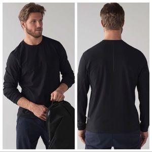 lululemon - men's twill chill long-sleeve top
